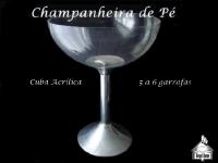 Champanheira de Pé Acrílica