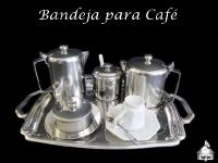Bandeja de Café - Bule - Café - Açucareiro - Mantegueira