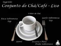 Conjunto Modelo - Chá/Café - LISO