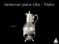 Samovar Vidro para Chá - 1 litro