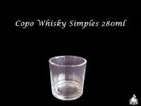 Copo de Whisky 280ml - Simples