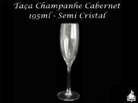 Taça Champanhe Cabernet (Semi-Cristal) 195ml