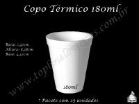 Copo Térmico 180ml