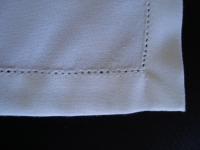 Guardanapo ponto Ajur Branco 45 X 45cm