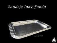 Bandeja Inox Funda 42X30cm