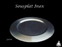 Sousplat Inox 30cm
