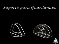Suporte Guardanapo Inox