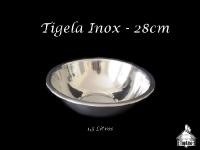 Tigela Redonda Inox 28cm 1,5 Litros