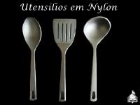 Utensílios em Nylon - Colher/Espátula/Concha