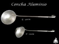 Concha Alumínio 40cm e 33cm