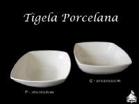 Tigelas Porcelana P 26x26x8cm e G 30x30x10cm