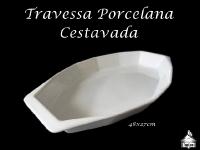 Travessa Porcelana Cestavada 48x27cm