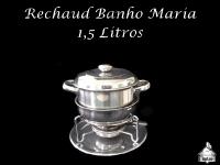 Rechaud Banho Maria 1,5 Litros para Molho