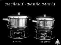 Rechaud Banho Maria 8 e 5,7 Litros