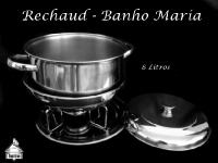 Rechaud Banho Maria 8 Litros