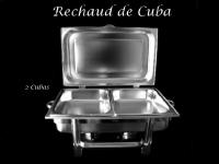 Rechaud Retangular com Cuba (1/2) Dupla