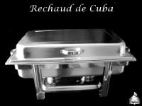 Rechaud Retangular com Cuba