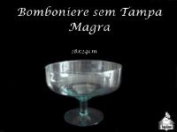 Bomboniere Sem Tampa Magra 18x24cm