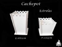 Cachepot MDF - ESTRELA