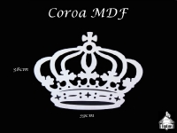 Coroa MDF 39x38cm