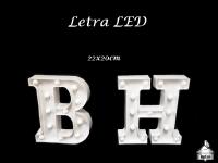 Letras LED 22x20cm B e H