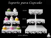 Suporte para Doces/Cupcake (Estrela ou Margarida)