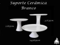 Suporte Cerâmica Branco