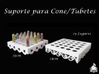 Suporte para Cone/Tubets - 25 Lugares (Estrela ou Margarida)