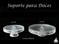 Suporte Trabalhado para Doces/Bolos - 2 Pratos