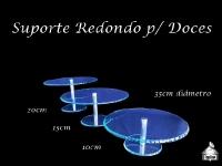 Suporte para Doces Redondo - 10cm - 15cm - 20cm (35cm diâmetro)