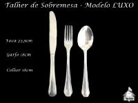Talher de Sobremesa - MODELO LUXO