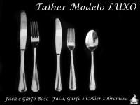 Talher Base e Sobremesa - MODELO LUXO
