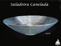 Saladeira/Fruteira Canelada 39cm diâmetro