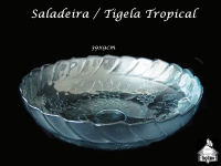 Saladeira/Tigela Tropical 39x9cm