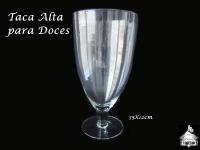Taça/Copo Alto para Doces 35x18cm